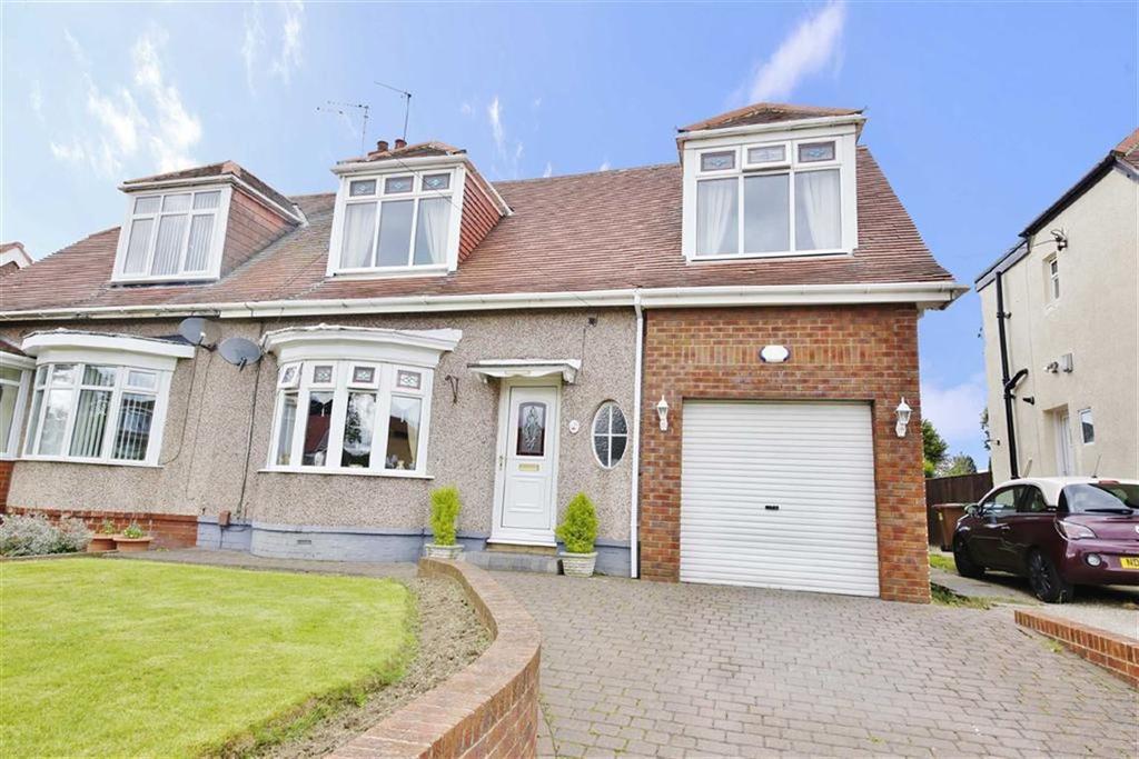 4 Bedrooms Semi Detached House for sale in Sandringham Crescent, East Herrington, Sunderland, SR3