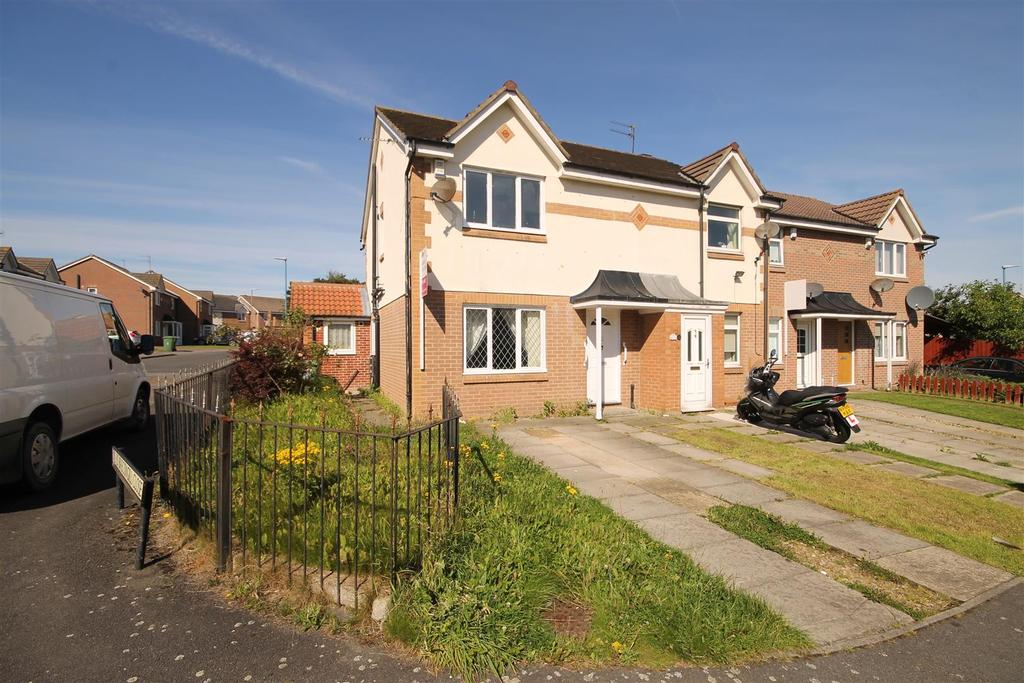 4 Bedrooms End Of Terrace House for sale in Brecongill Close, Hartlepool