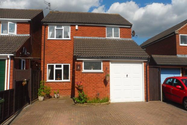 3 Bedrooms Detached House for sale in Barbara Close, Enderby, Leicester, LE19