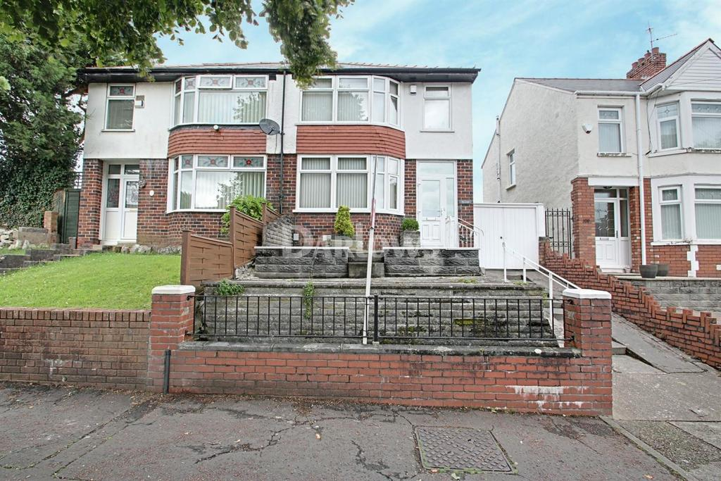 3 Bedrooms Semi Detached House for sale in Bwlch Road, Fairwater