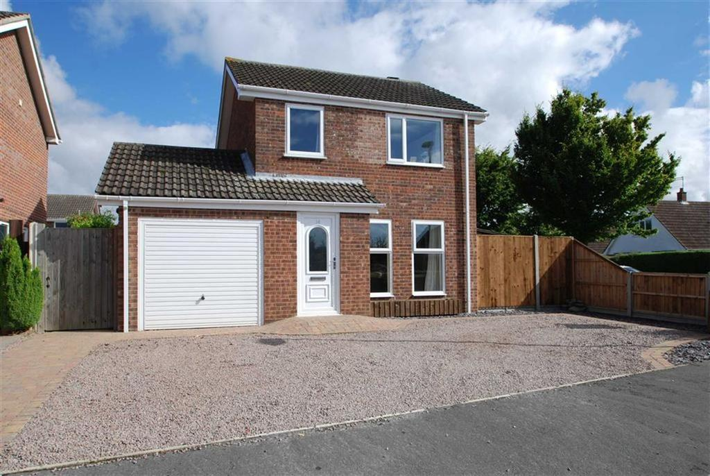 3 Bedrooms Detached House for sale in Spice Avenue, Wyberton, Boston