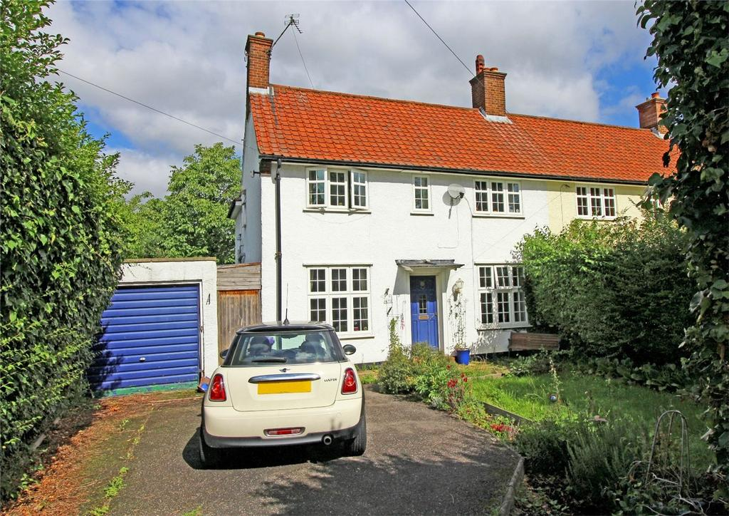 4 Bedrooms Semi Detached House for sale in Icknield Way, Letchworth Garden City, Hertfordshire