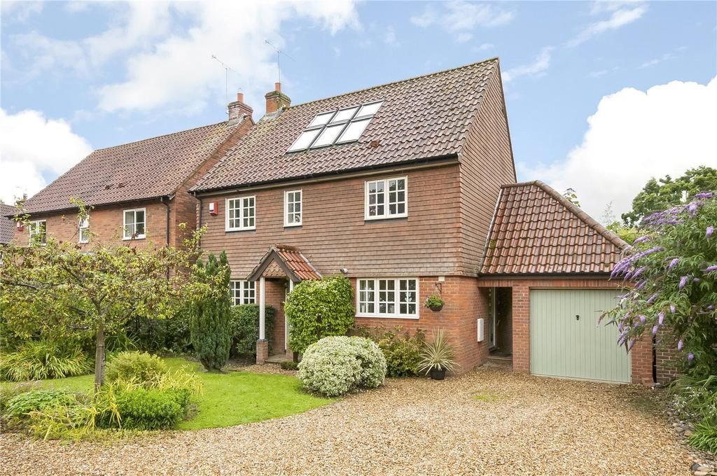 5 Bedrooms Detached House for sale in Bramble Hill, Chandler's Ford, Eastleigh, Hampshire, SO53