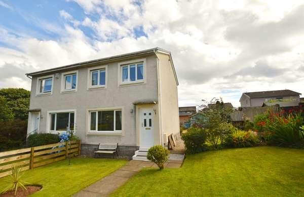 3 Bedrooms Semi-detached Villa House for sale in 14 Bellard Walk, West Kilbride, KA23 9JL