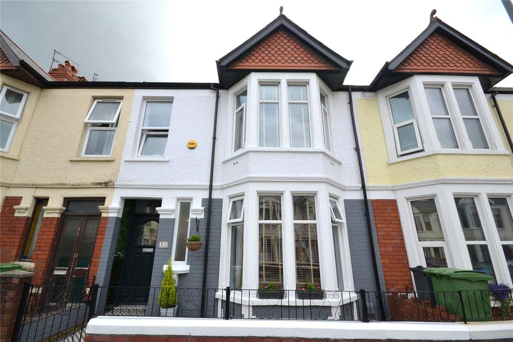 3 Bedrooms Terraced House for sale in Flaxland Avenue, Cardiff, CF14