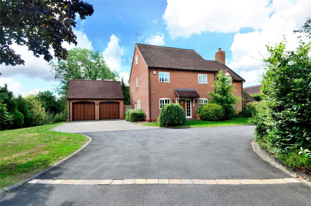5 Bedrooms Detached House for sale in Hanbury, Bromsgrove, Worcestershire