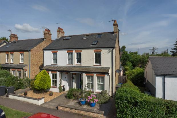 4 Bedrooms Semi Detached House for sale in Bishops Road, Trumpington, Cambridge