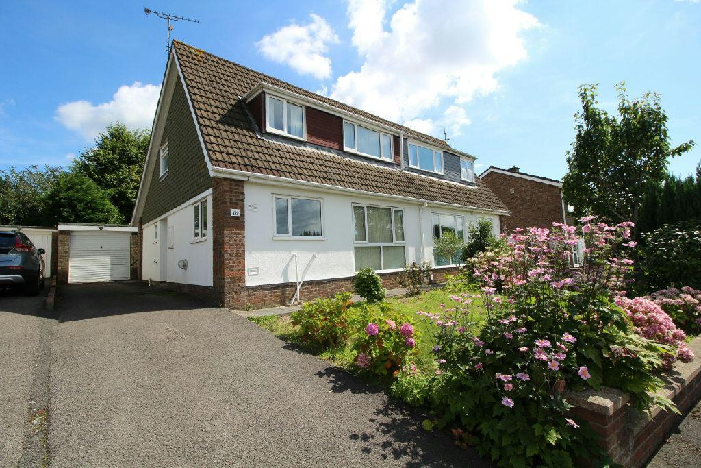 4 Bedrooms Semi Detached House for sale in Court Gardens, Rogertone, Newport