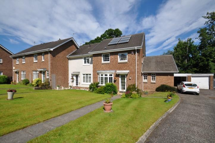 3 Bedrooms End Of Terrace House for sale in 36 Strathview Park, Netherlee, G44 3EN