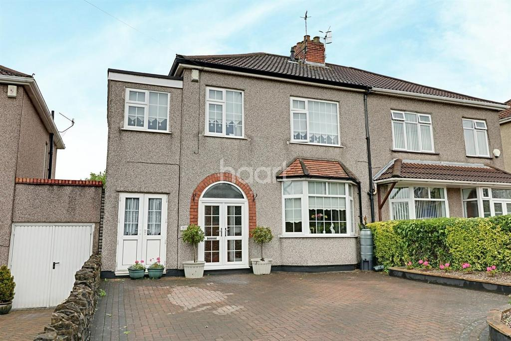 4 Bedrooms Semi Detached House for sale in Wells Road, BS14