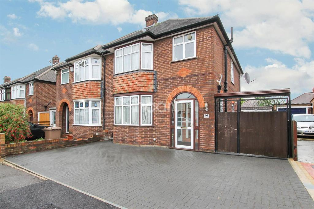 3 Bedrooms Semi Detached House for sale in challney catchment!