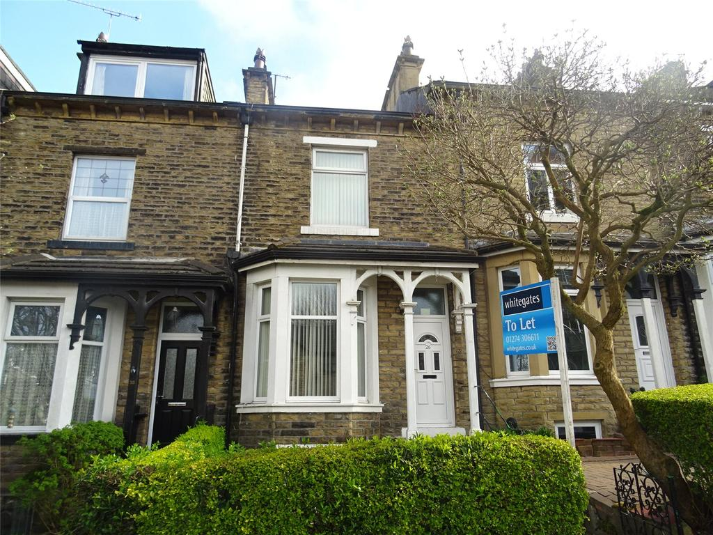 4 Bedrooms Terraced House for sale in Aireville Road, Bradford, West Yorkshire, BD9
