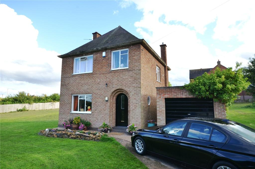 3 Bedrooms Detached House for sale in Cross Hill Lane (Off Beacon Road), Loughborough, Leicestershire