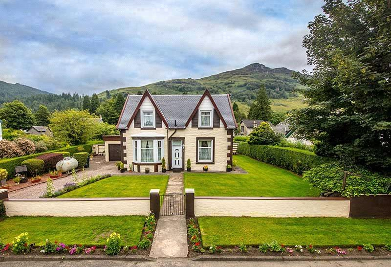 4 Bedrooms Unique Property for sale in Glenside, Lochgoilhead, Cairndow, Argyll, PA24