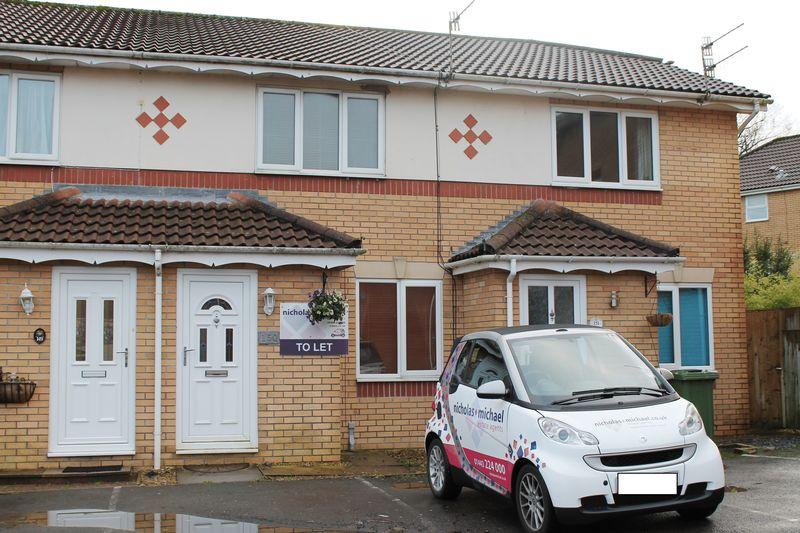 2 Bedrooms Terraced House for sale in Parc Bryn Derwen, Llanharan, CF72 9TX