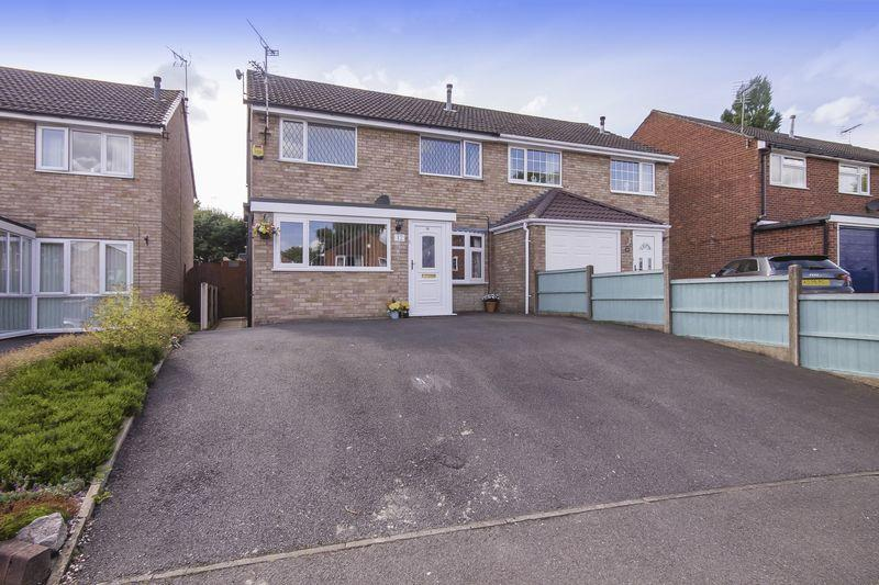 3 Bedrooms Semi Detached House for sale in Waveney Close, Derby
