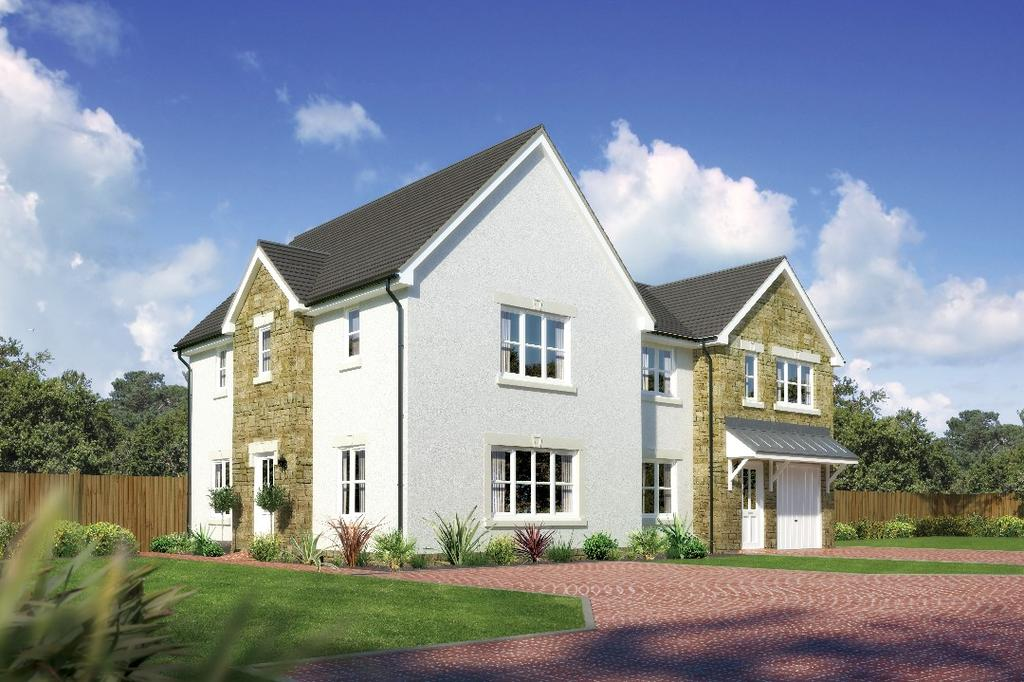 3 Bedrooms Semi Detached House for sale in Castlewellan, Hunters Meadow , Auchterarder, Perthshire , PH3 1PA