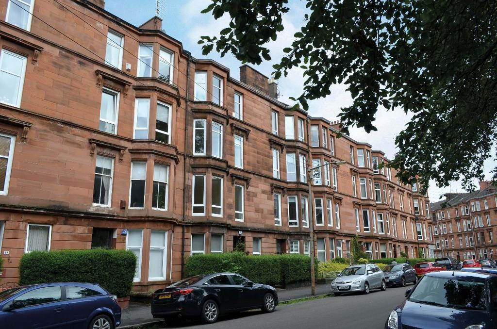 2 Bedrooms Flat for sale in Waverley Gardens, Flat 1/2, Shawlands, Glasgow, G41 2DP