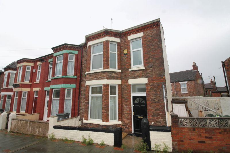 3 Bedrooms End Of Terrace House for sale in Hollybank Road, Birkenhead