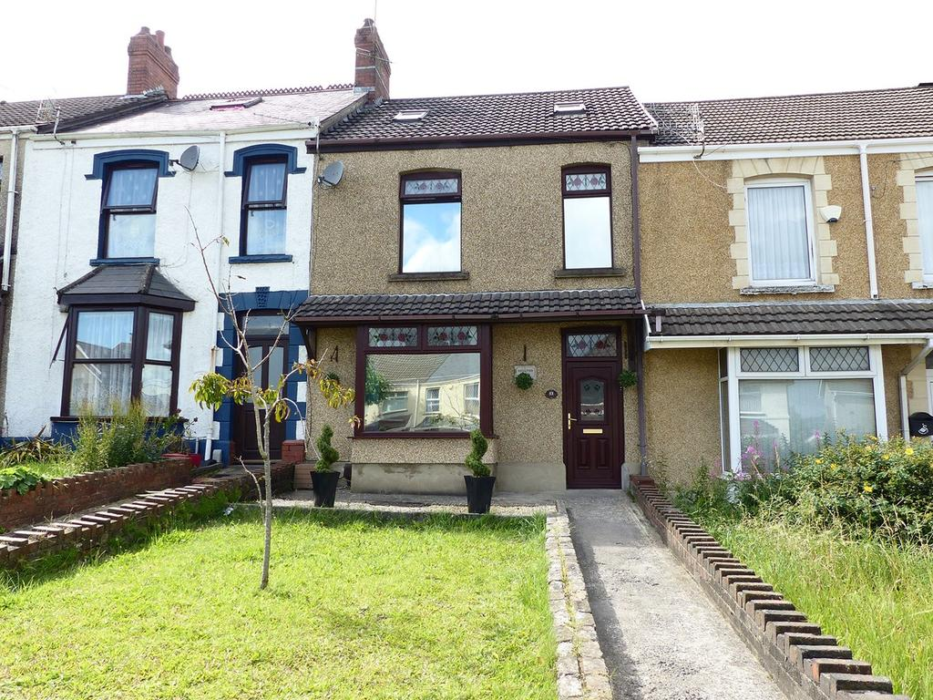 3 Bedrooms Terraced House for sale in Vicarage Road, Morriston, Swansea, SA6