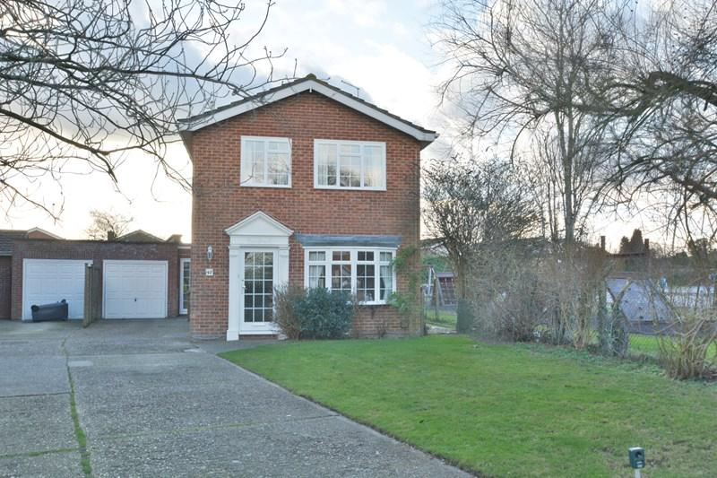 4 Bedrooms Detached House for sale in Ashfield Road, Andover