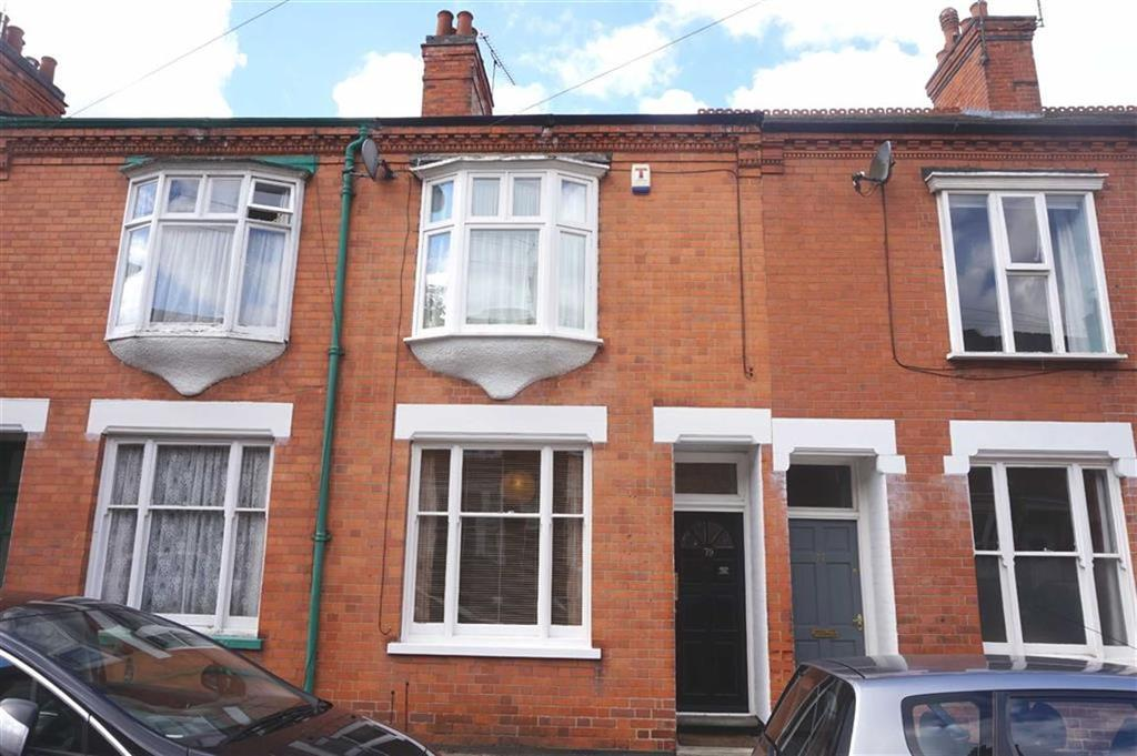 2 Bedrooms Terraced House for sale in Adderley Road, Clarendon Park, Leicester