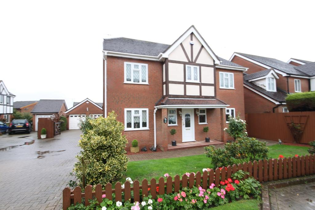 4 Bedrooms Detached House for sale in Buxton Close, Meppershall, Shefford, SG17
