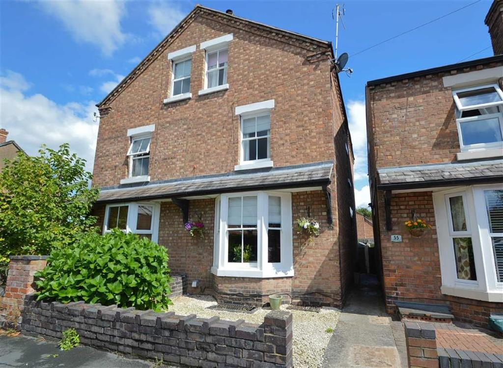 4 Bedrooms Semi Detached House for sale in Percy Street, Shrewsbury, Shrewsbury