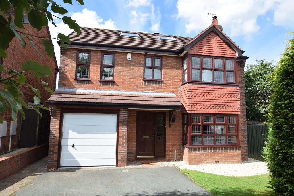 5 Bedrooms Detached House for sale in 6 Camross Drive, Herongate, Shrewsbury SY1 3XH