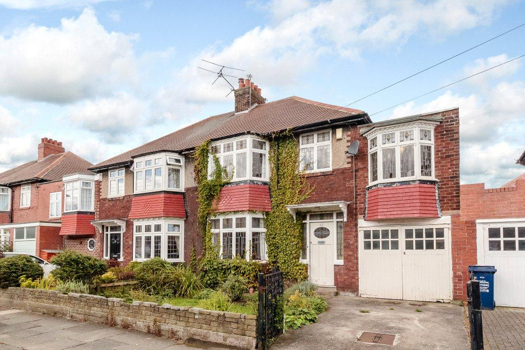 4 Bedrooms Semi Detached House for sale in Beatty Avenue, Jesmond, Newcastle Upon Tyne, Tyne Wear