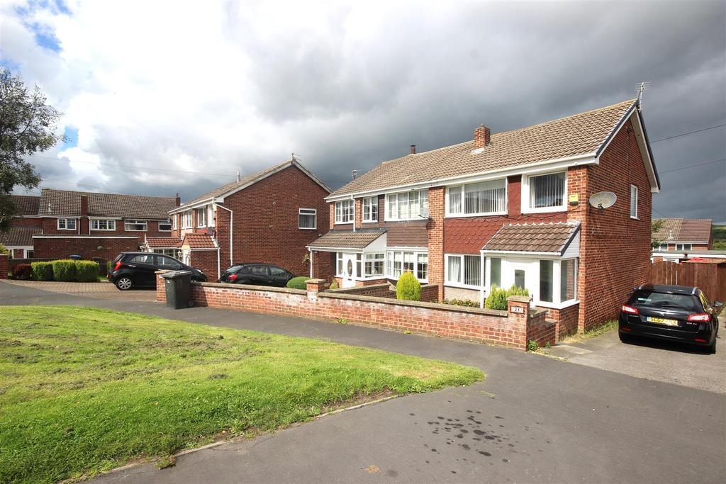 3 Bedrooms Semi Detached House for sale in Valley View, Sacriston, Durham