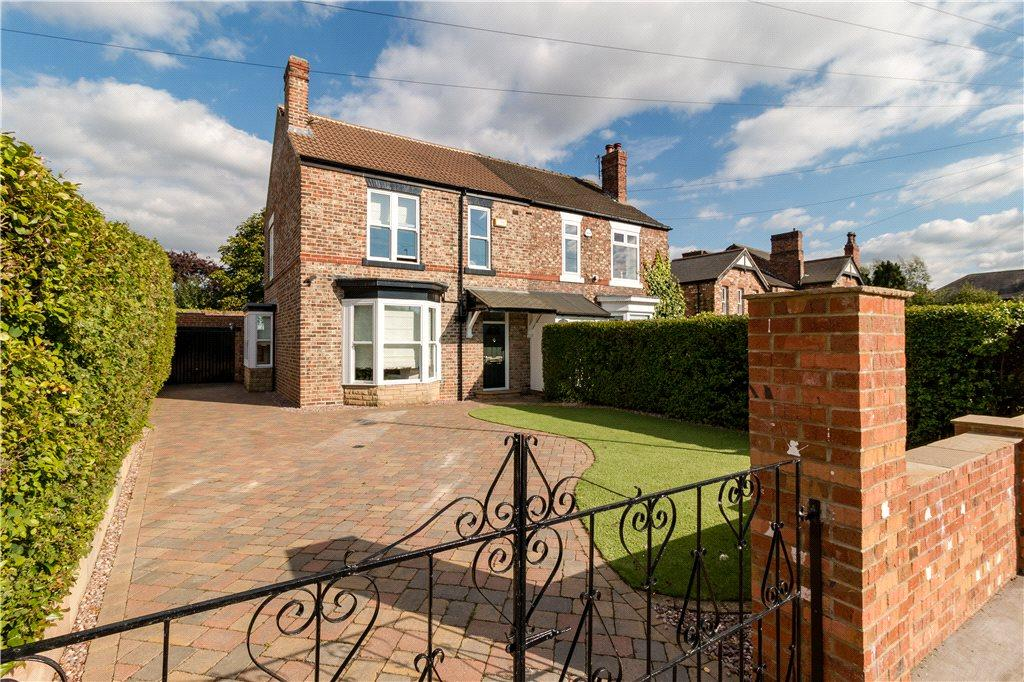 3 Bedrooms Semi Detached House for sale in Westview Terrace, Eaglescliffe, Stockton-on-Tees