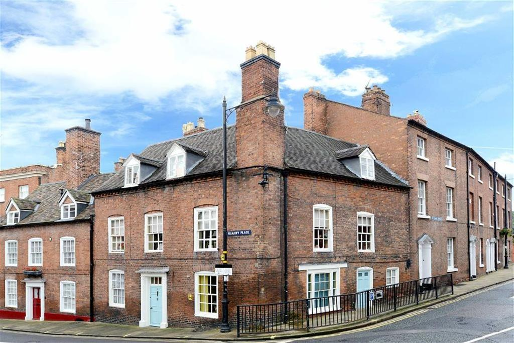 4 Bedrooms Town House for sale in Quarry Place, Shrewsbury, Shropshire