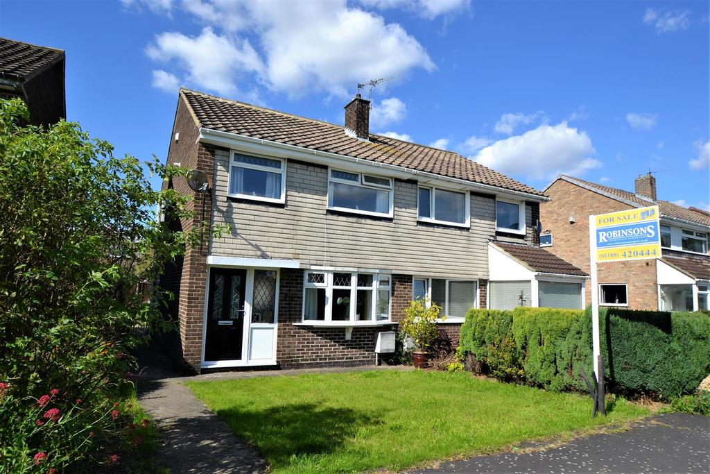 3 Bedrooms Semi Detached House for sale in Corscombe Close, Ferryhill