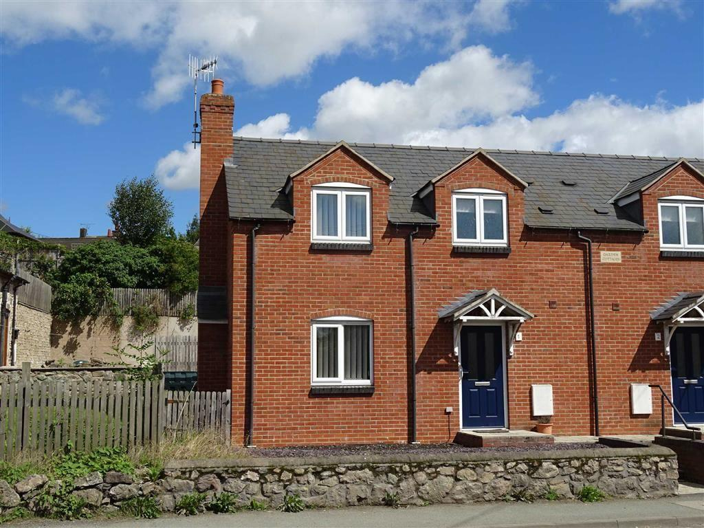 3 Bedrooms Semi Detached House for sale in 1, Garden Cottages, Llansantffraid, Powys, SY22