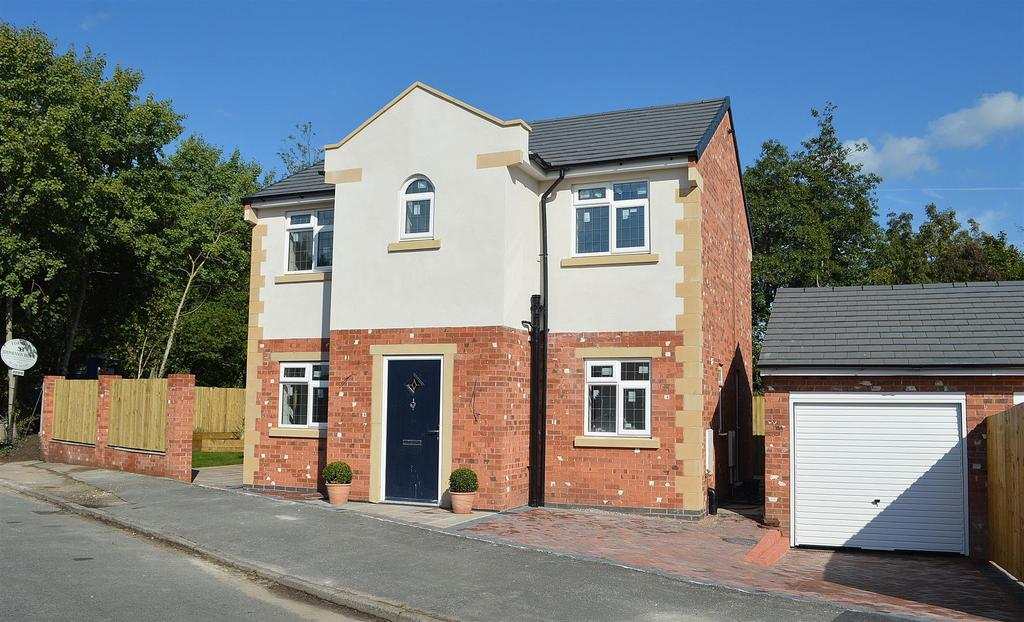 4 Bedrooms Detached House for sale in Moston Road, Ettiley Heath, Sandbach