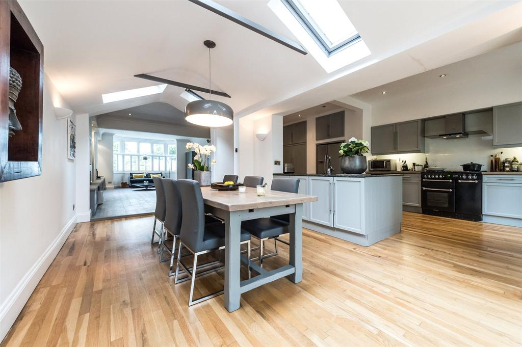 5 Bedrooms Terraced House for sale in Magdalen Road, London, SW18