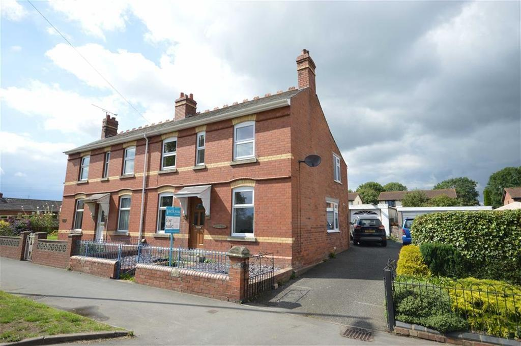 3 Bedrooms Semi Detached House for sale in 1 Chester Gardens, Barons Cross Road, Leominster, HR6