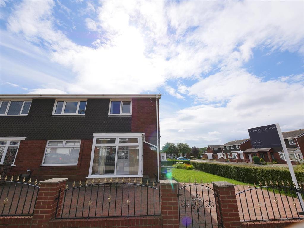 3 Bedrooms Semi Detached House for sale in Gayhurst Crescent, Millhill, Sunderland