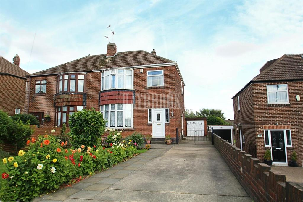 3 Bedrooms Semi Detached House for sale in Bent Lathes Avenue, Brecks