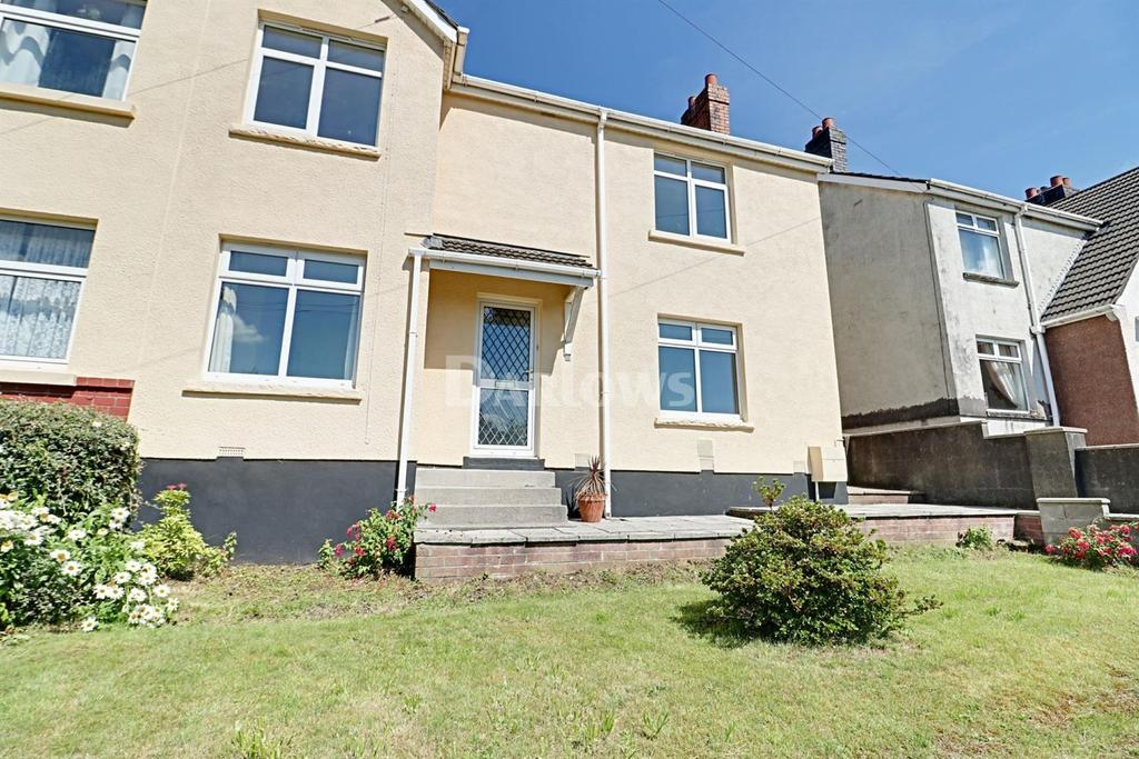3 Bedrooms Semi Detached House for sale in Sunny Bank Terrace, Machen