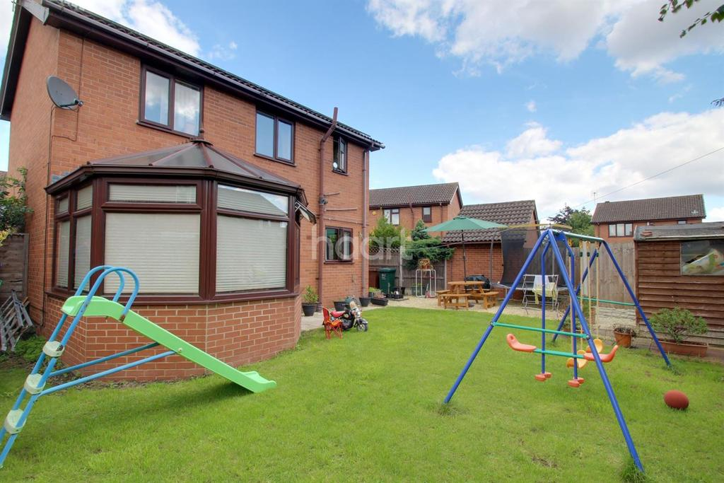 3 Bedrooms Detached House for sale in Outram Way, Stenson Fields, Derby