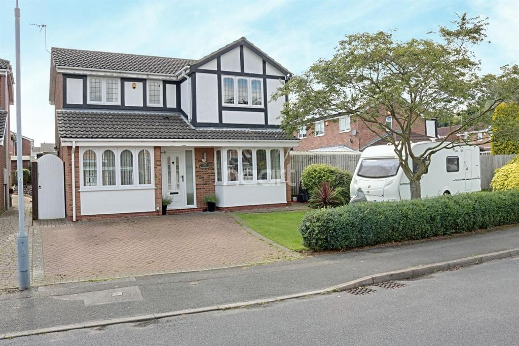 4 Bedrooms Detached House for sale in Hazelwood Drive, Hucknall