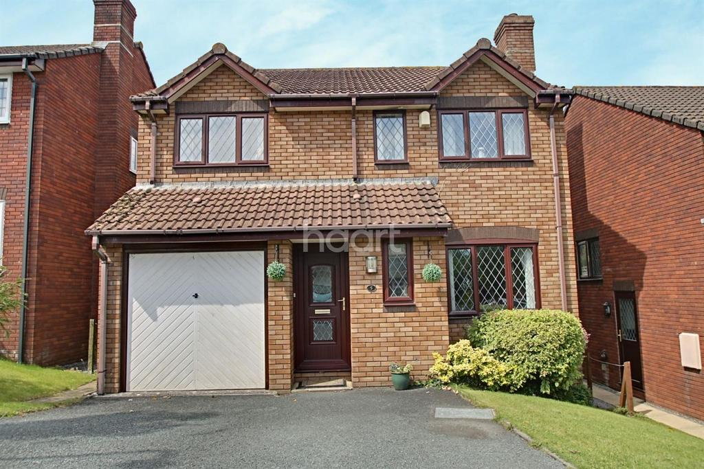4 Bedrooms Detached House for sale in Coppers Park, Woolwell