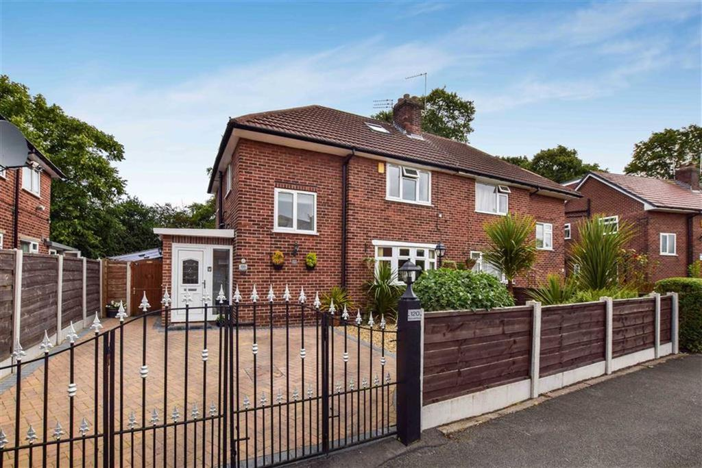 3 Bedrooms Semi Detached House for sale in Fairywell Road, Timperley, Cheshire, WA15