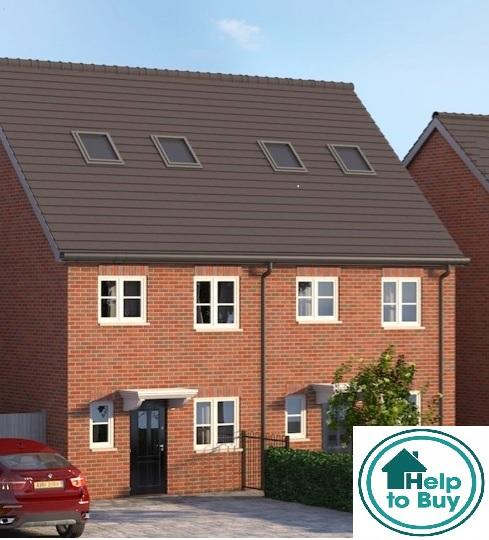 3 Bedrooms Semi Detached House for sale in Plot Eight, 1a Valley Road, Upper Gornal, Dudley, West Midlands, DY3 1TS