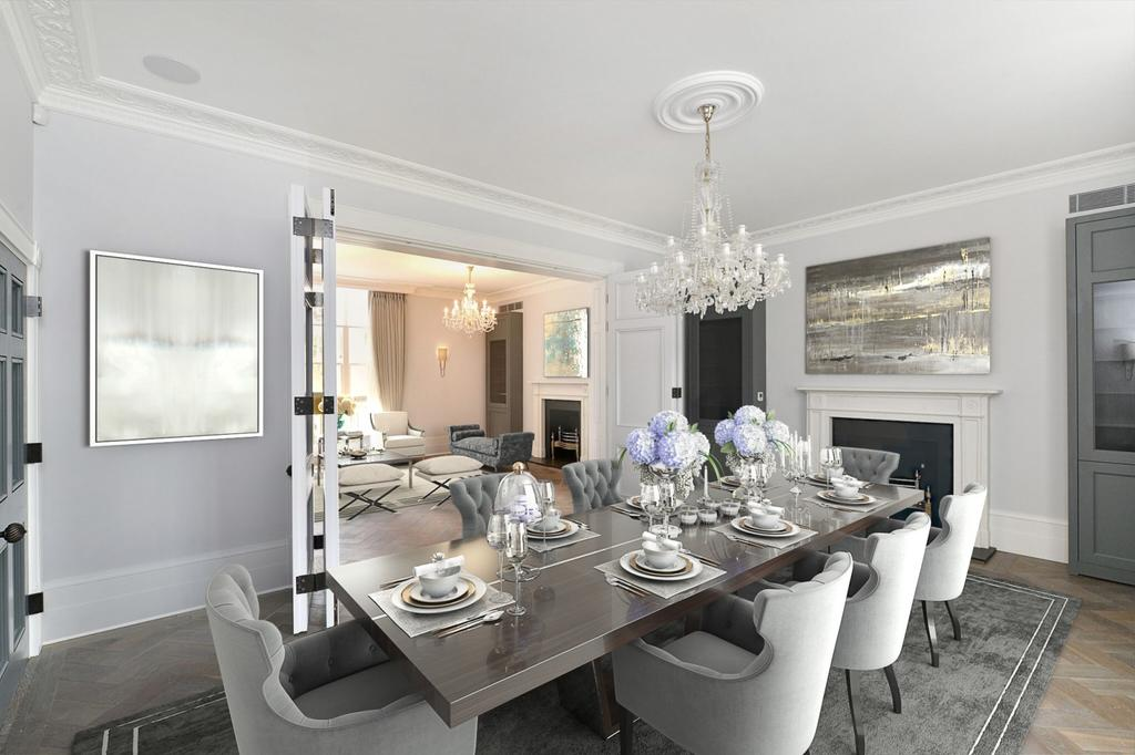 5 Bedrooms House for rent in Cumberland Terrace, Regent's Park, London, NW1