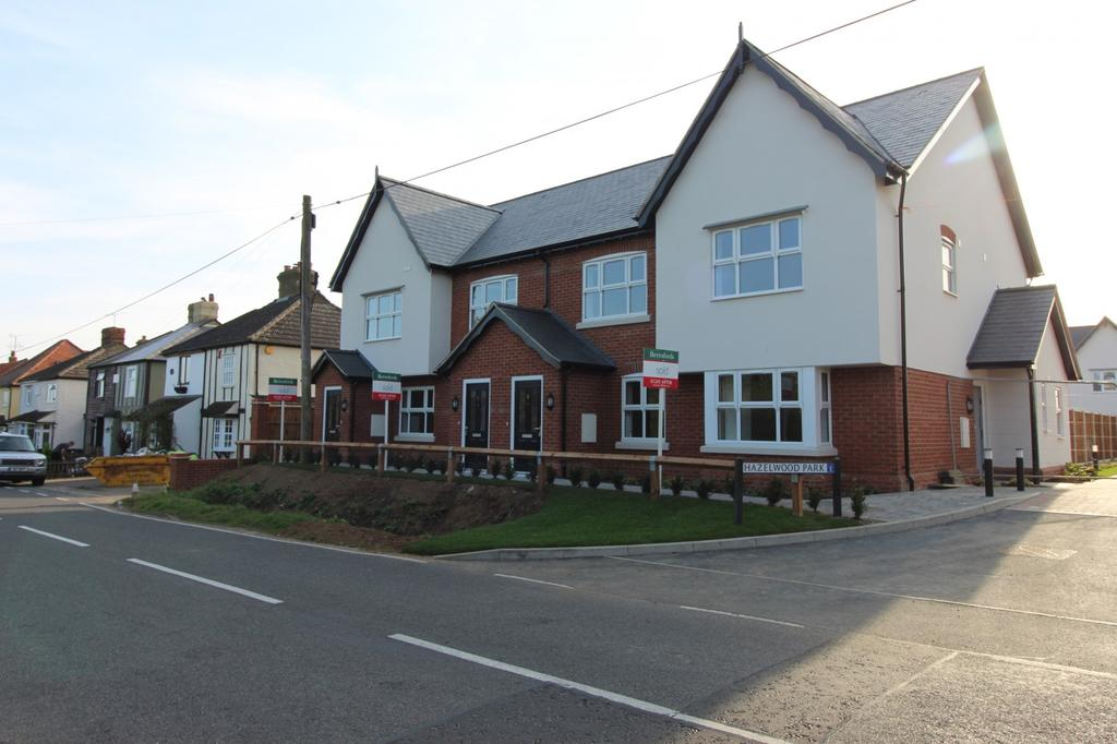 3 Bedrooms Terraced House for sale in Plot 13 Hazelwood Park, Hastingwood, Essex, CM17
