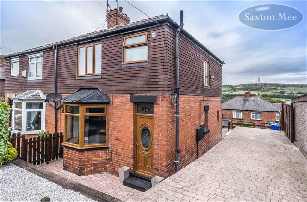 3 Bedrooms Semi Detached House for sale in Shay Road, Stocksbridge, Sheffield, S36