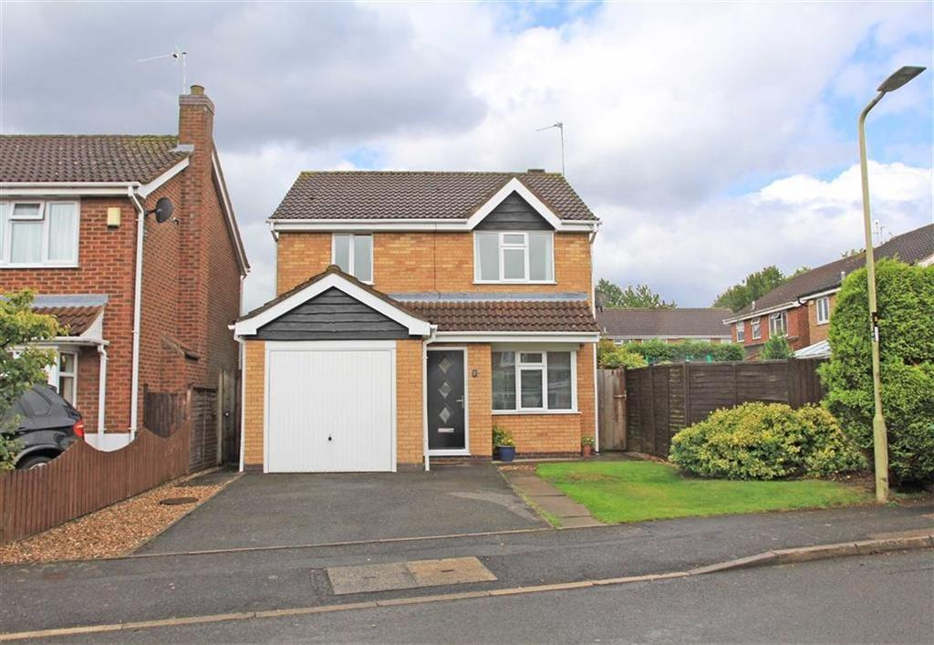3 Bedrooms Detached House for sale in Pawley Close, Whetstone, Leicestershire